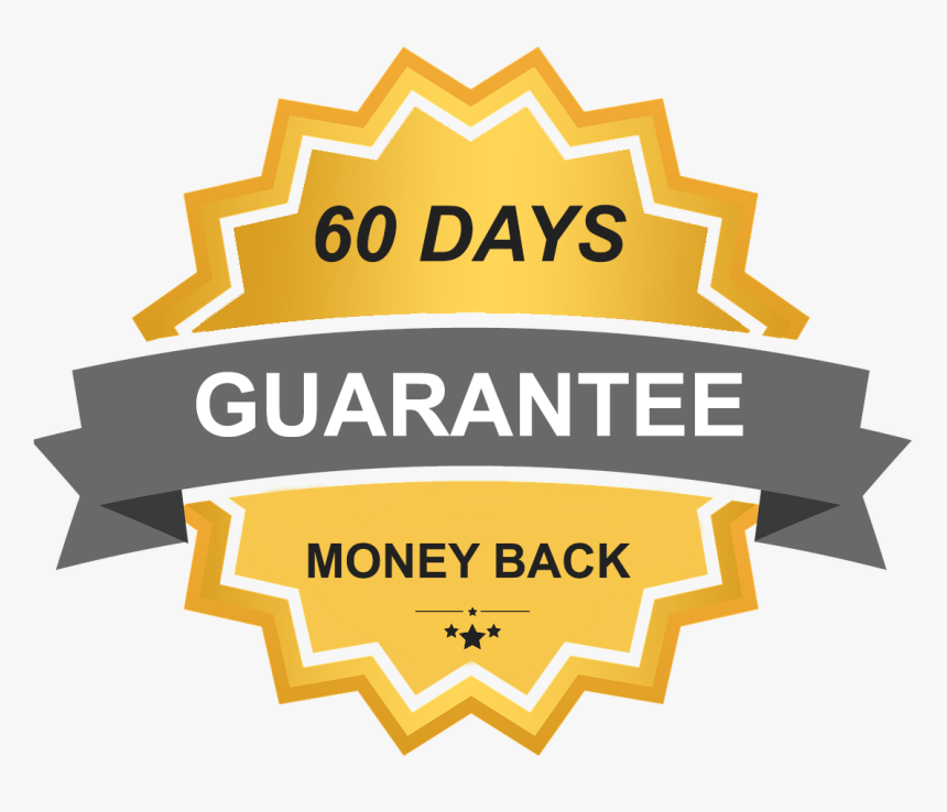 Transparent 60 Day Money Back Guarantee Png - Satisfaction Guarantee 100, Png Download, Free Download