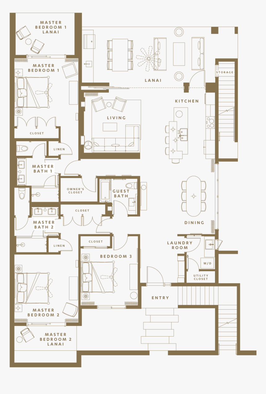 Floor Plan Design Transparent, HD Png