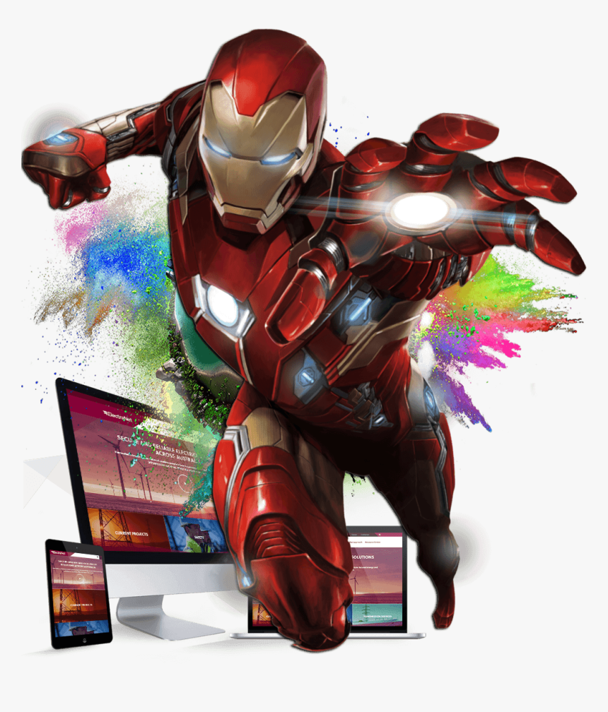 Iron Man Png Compost Elements - Imagenes Iron Man Png, Transparent Png, Free Download