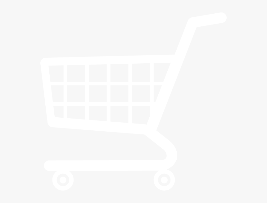 Shopping Cart Icon White - Shopping Cart Clipart White, HD Png Download, Free Download