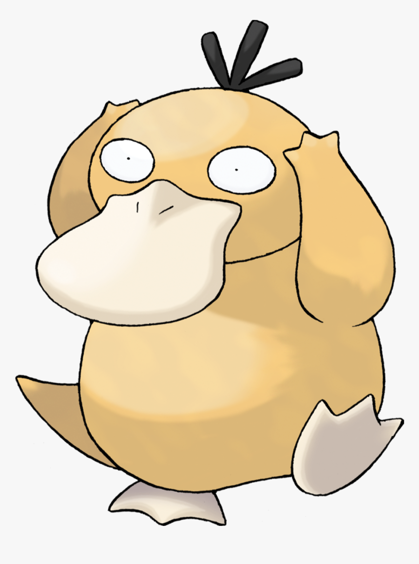 Psyduck - Pokemon Characters, HD Png Download, Free Download
