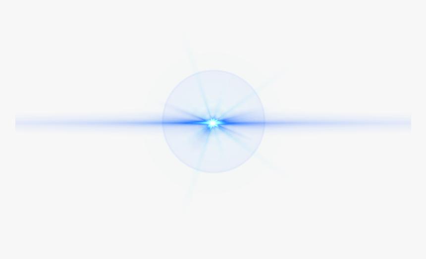 Front Blue Lens Flare - Light Effect Blue Png, Transparent Png, Free Download