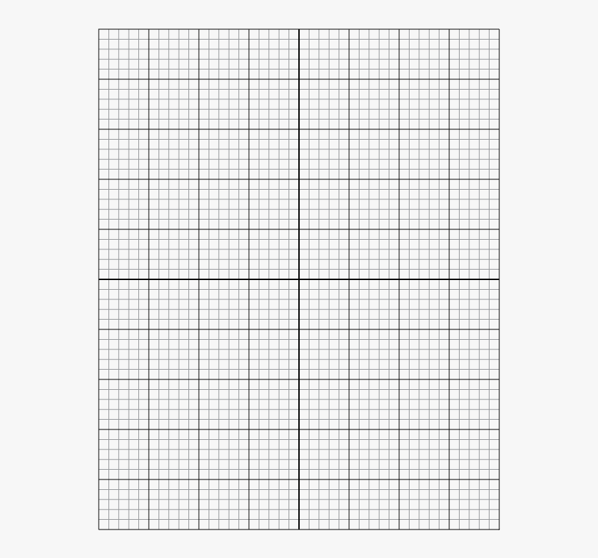 Full Page Downloadable Printable Graph Paper, HD Png Download, Free Download