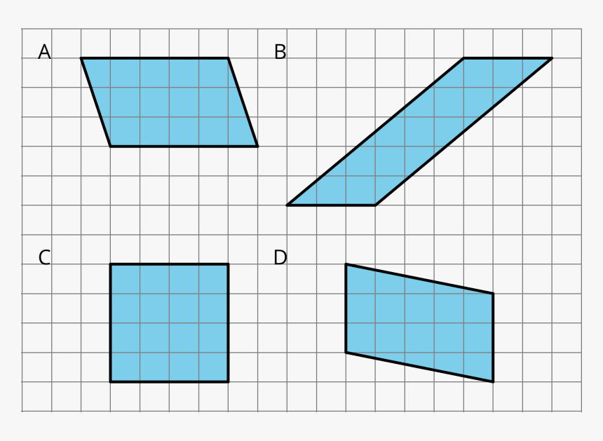 Transparent Graph Paper Png - Three Of These Parallelograms Have The Same Area As, Png Download, Free Download