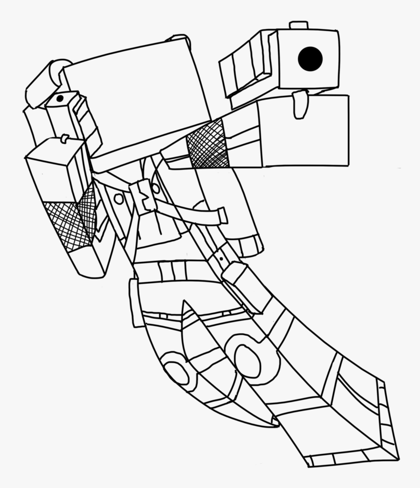 8 Pics Of Minecraft Skydoesminecraft Coloring Pages - Minecraft Skins Coloring Pages, HD Png Download, Free Download