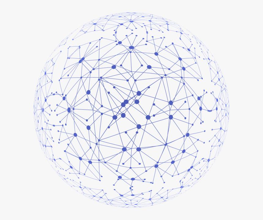 Decentralized Blockchain Nodes, HD Png Download, Free Download