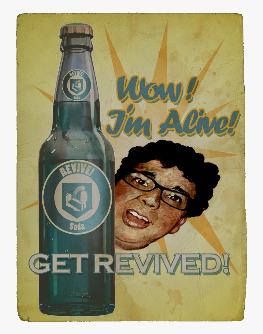 Zombie Perk Quick Revive Poster Hd Png Download Kindpng