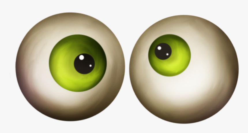 #eyes #green #halloween #crazy #freetoedit - Circle, HD Png Download, Free Download