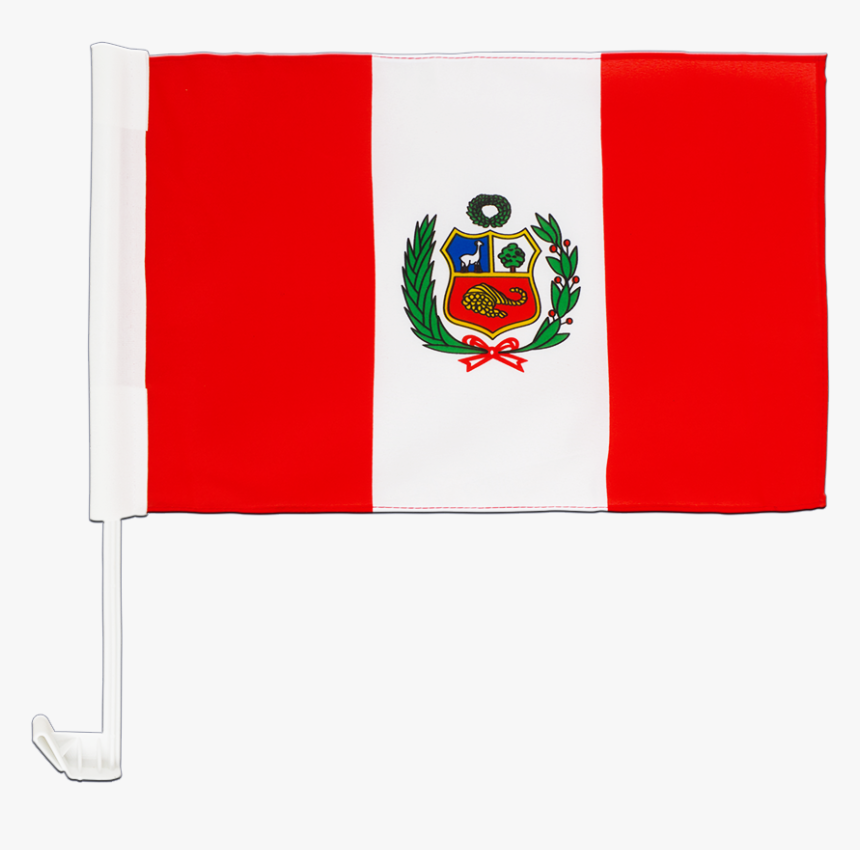 "Peru Car Flag 12x16"" - Peru, HD Png Download, Free Download"