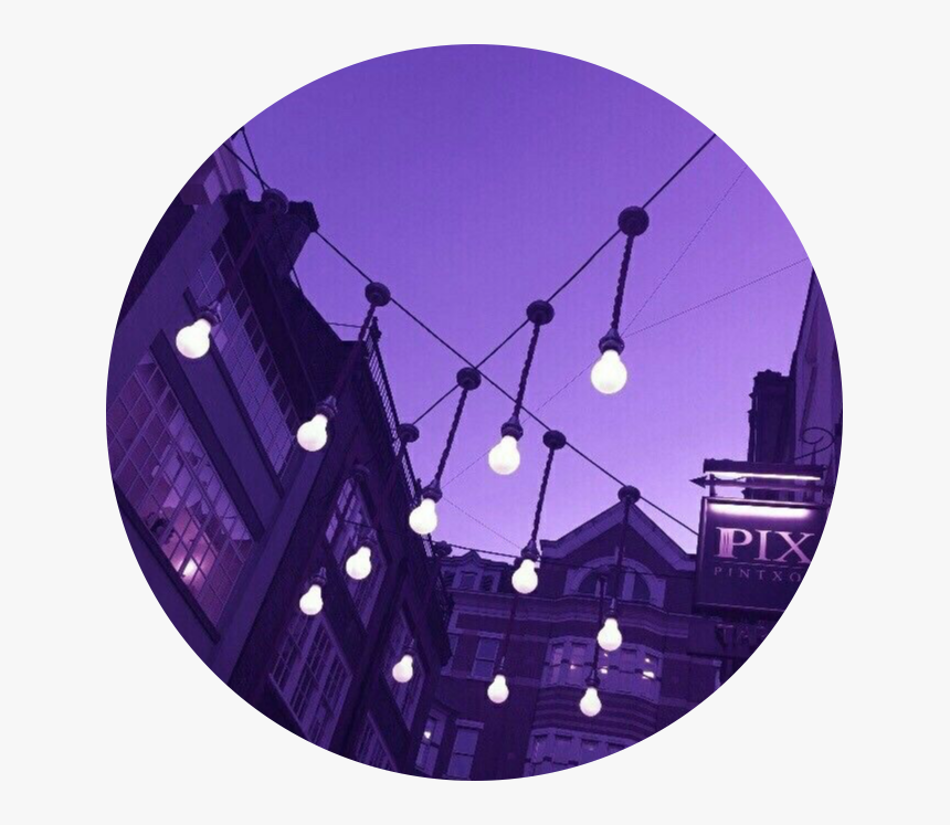 Transparent City Lights Png - Profile Picture Background Circle, Png Download, Free Download