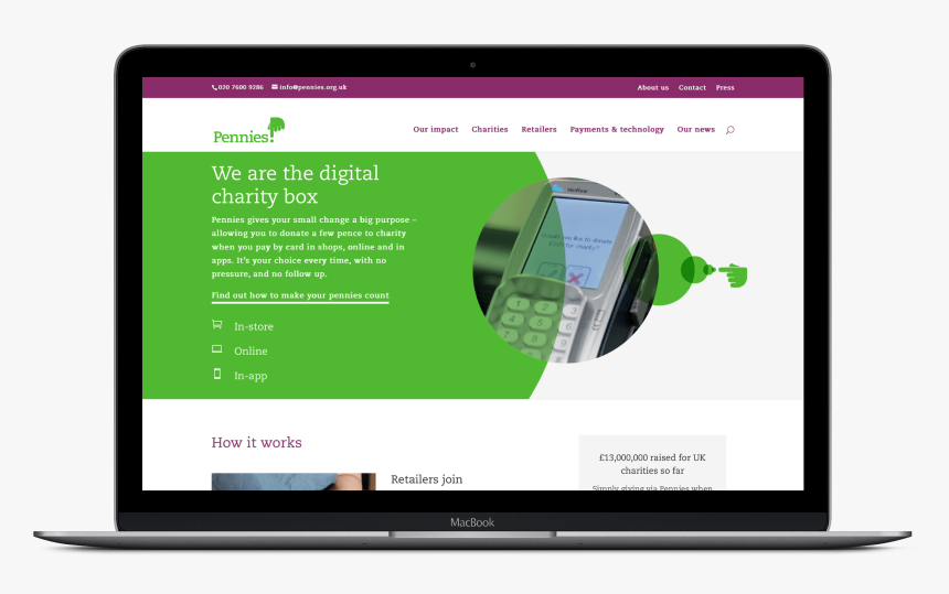 Pennies Is A Fast Moving Business With A Small Team - Flat Panel Display, HD Png Download, Free Download