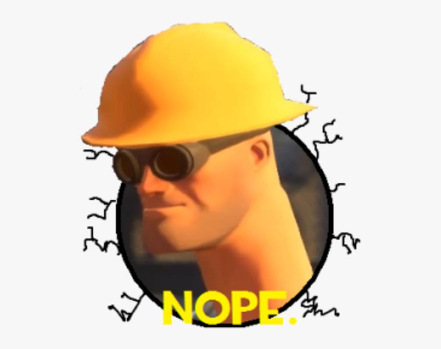 Tf2 Engineer Nope Meme Png Download Tf2 Engineer Nope Meme