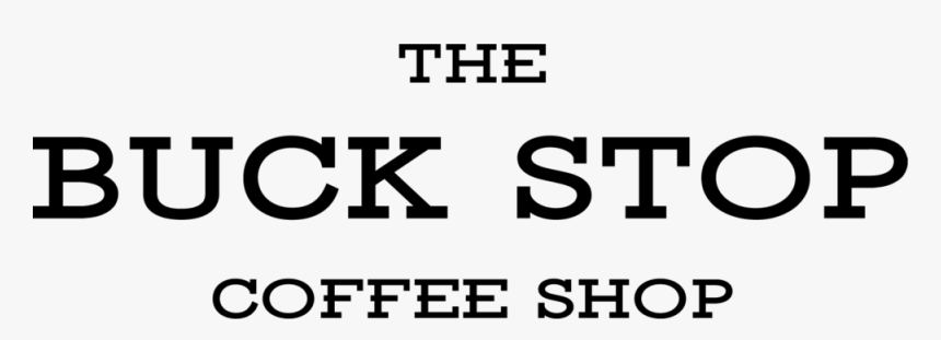 The Buck Stop Black - Oval, HD Png Download, Free Download