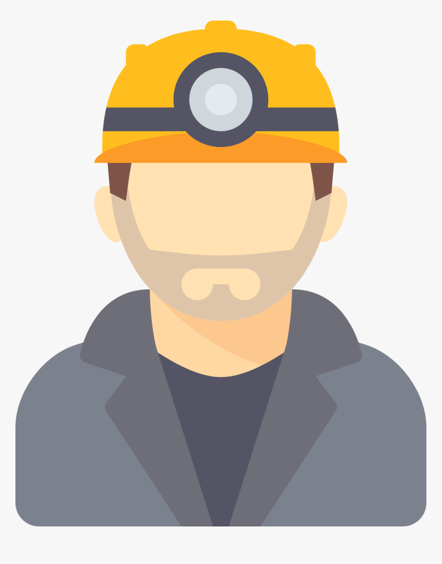 Mining Computer Icons Miner Scalable Bitcoin Coal Clipart - Miner Icon, HD Png Download, Free Download