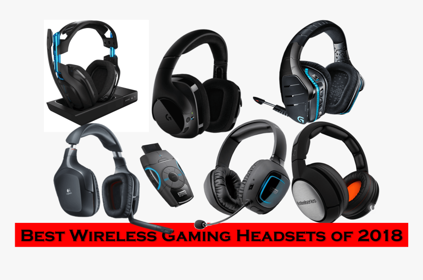 Best Wireless Gaming Headsets List - Headphones, HD Png Download, Free Download
