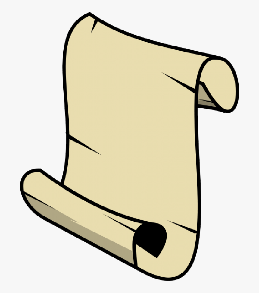 Scrolls Clipart , Transparent Cartoons - Small Scroll, HD Png Download, Free Download