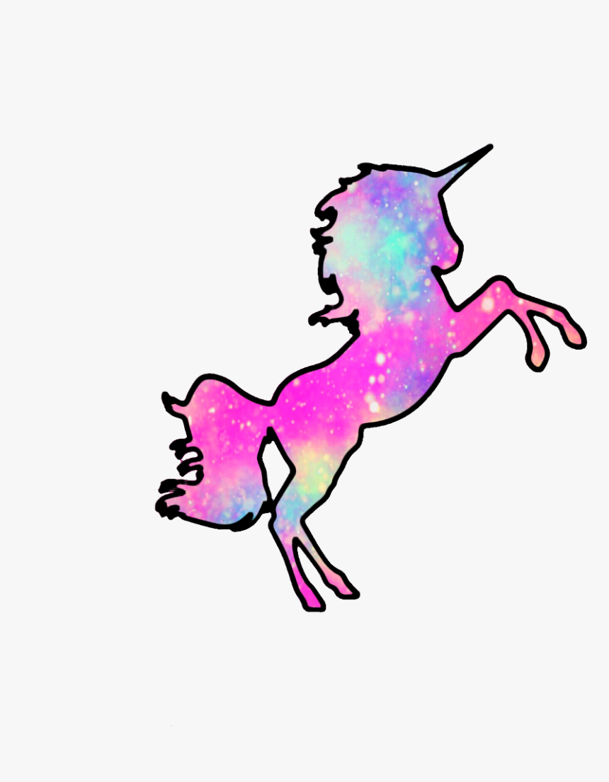 179 1790391 ftestickers mpink88 glitter sparkle galaxy unicorns magical unicorn