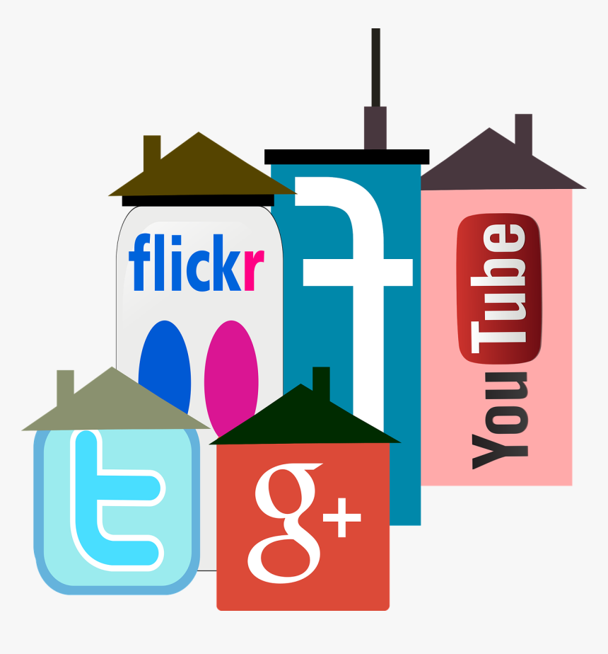 Facebook, Flicker, Youtube, Google, Social, Icons - Youtube, HD Png Download, Free Download