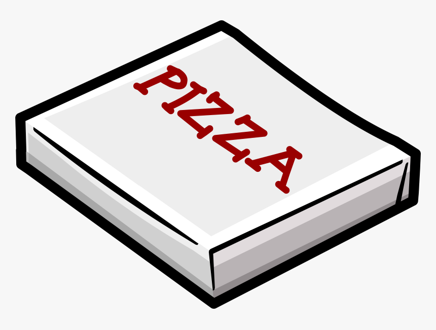 Pizza Box Clipart - Pizza Box Outline Png, Transparent Png, Free Download