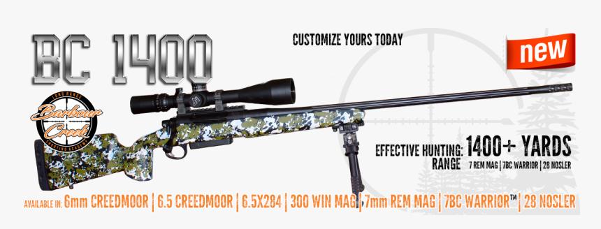 Bc 1400 Home 1 - Long Range Hunting Rifle, HD Png Download, Free Download