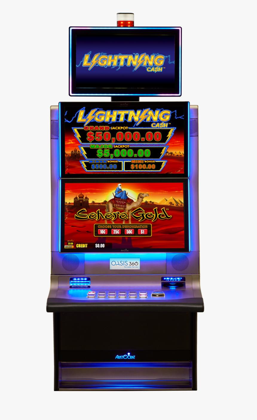 Lightning Link Pokie Machine Hd Png Download Kindpng