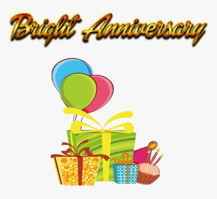 Bright Anniversary Png Background - Illustration, Transparent Png, Free Download
