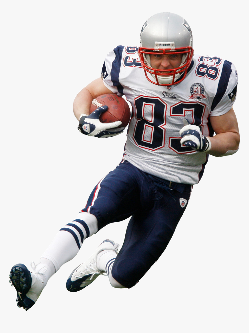 Patriots Helmet Png - Nfl Players White Background, Transparent Png, Free Download