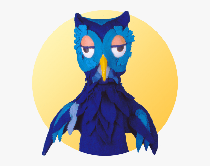 Owl Mr Rogers Puppets, HD Png Download, Free Download