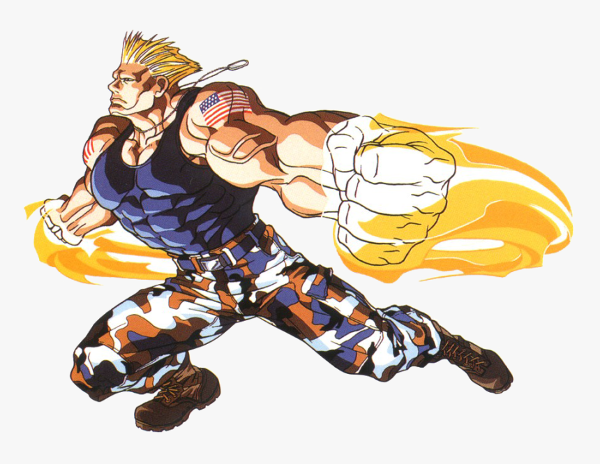 Street Fighter Ii Png Clipart Street Fighter Guile Power