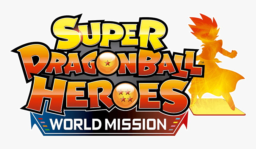Super Dragon Ball Heroes World Mission Logo, HD Png Download, Free Download