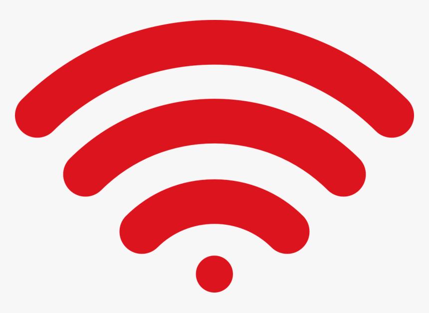 Wireless, Wi Fi, Wireless Signal, Symbol Wi Fi, Web - Red Wifi Logo Png, Transparent Png, Free Download