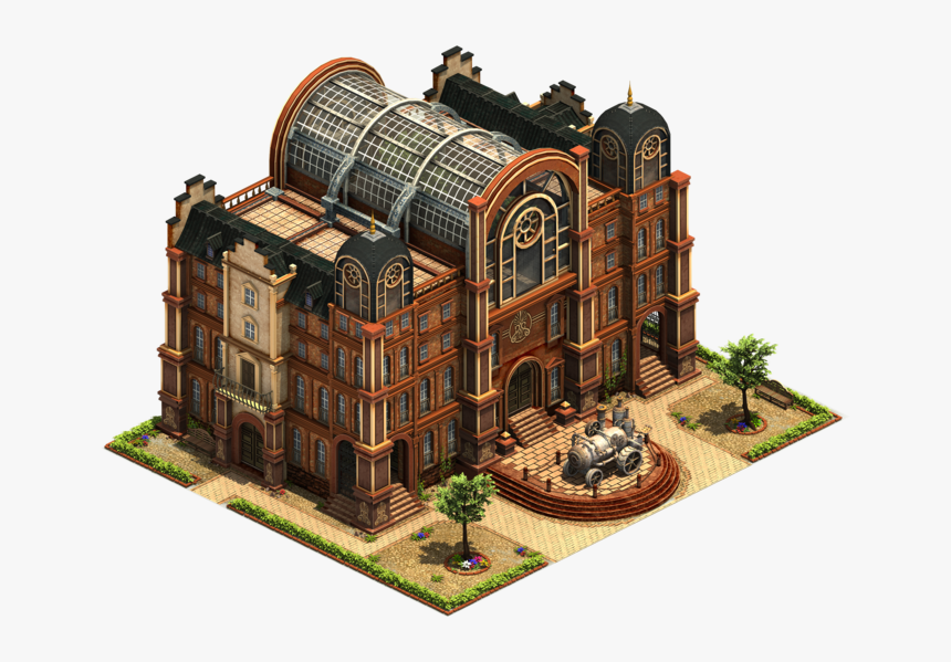 Forge Of Empires Industrial Age Great Buildings, HD Png Download, Free Download