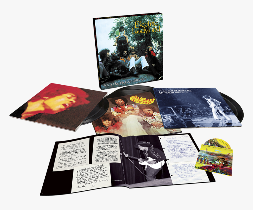 Jimi Hendrix Electric Ladyland 50th Anniversary Vinyl, HD Png Download, Free Download