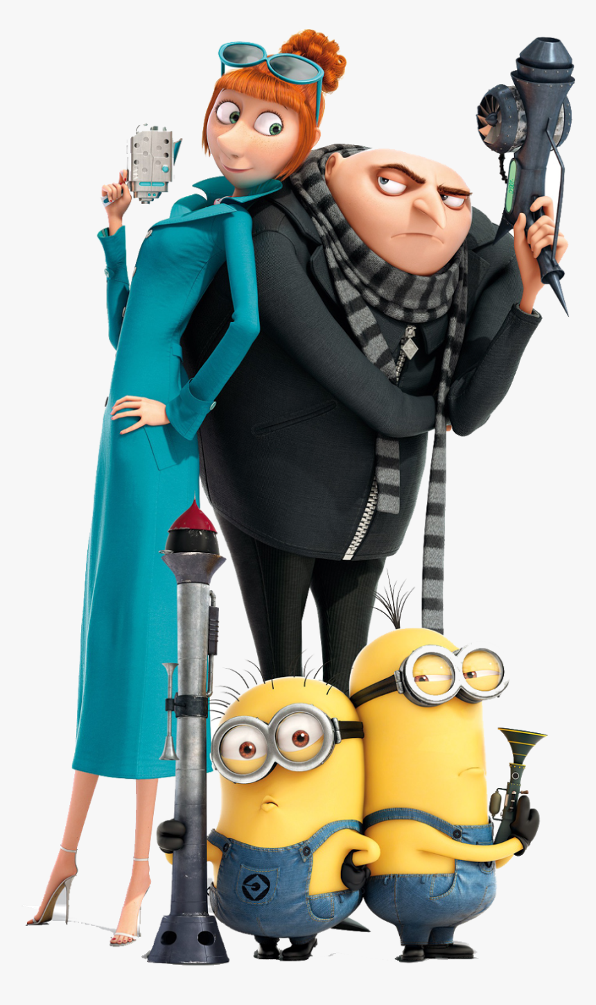 Character Transparent Despicable Me - Despicable Me 2 Png, Png Download, Free Download