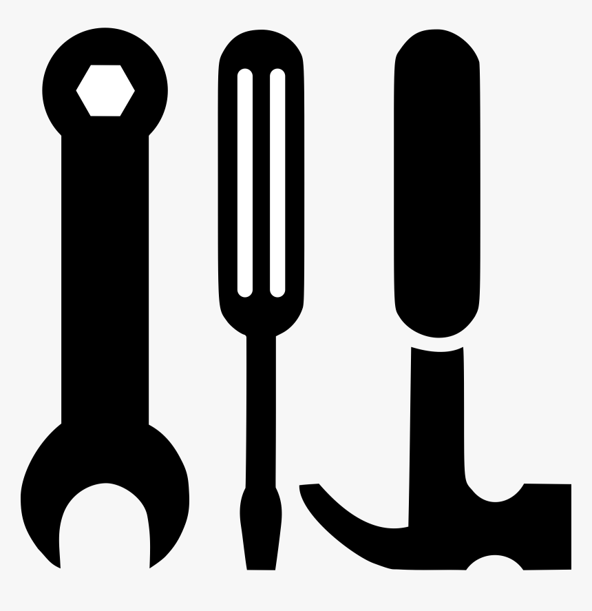 Hammer Clipart Vector - Hammer Screwdriver Clipart, HD Png Download, Free Download