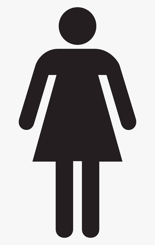 Female Stick Figure Png, Transparent Png, Free Download