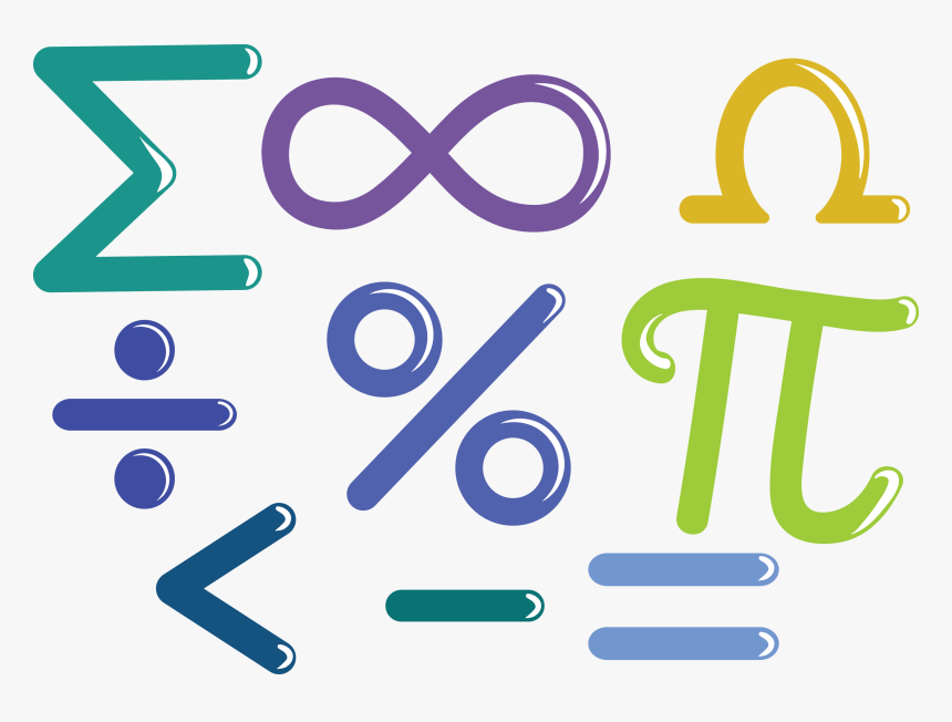 Mathematics Euclidean Vector Number Symbol Math Symbols Clipart Png Transparent Png Kindpng