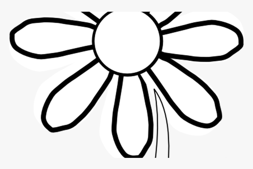 Outline Of A Sunflower Clipart Best Flower Png Black And White Transparent Png Kindpng You can use it in your daily design, your own artwork and your team. outline of a sunflower clipart best