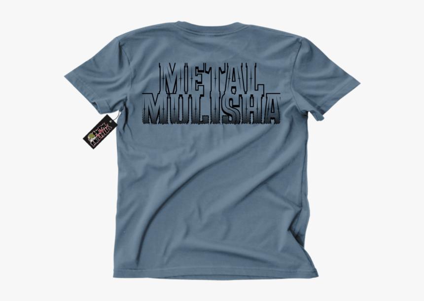 Metal Mulisha Border T-shirt Mens Back Slate - Metal Mulisha, HD Png Download, Free Download