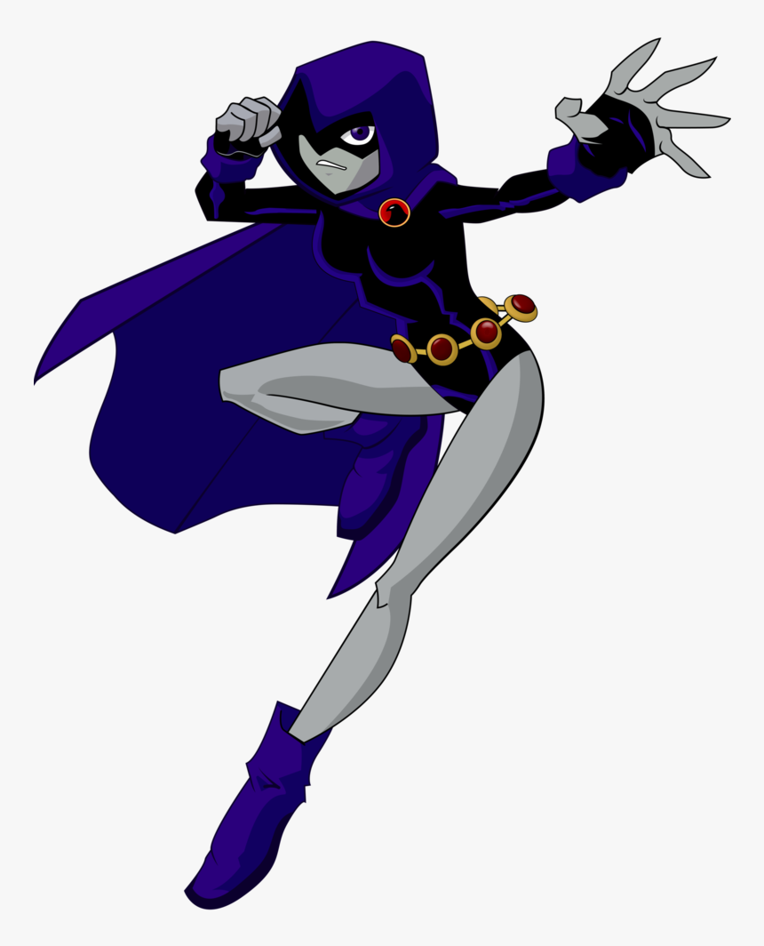 Teen Titans Wiki - Raven From Teen Titans, HD Png Download, Free Download