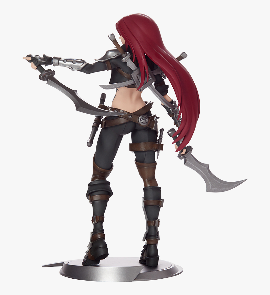Katarina Unlocked Statue - Action Figure Katarina League Of Legends, HD Png Download, Free Download