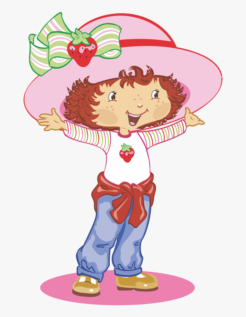 Strawberry Shortcake Rosita Fresita Logo Vector Strawberry