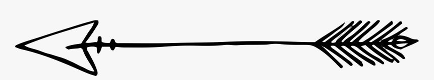 Clip Art Decorative Arrows - Transparent Background Hand Drawn Arrow, HD Png Download, Free Download
