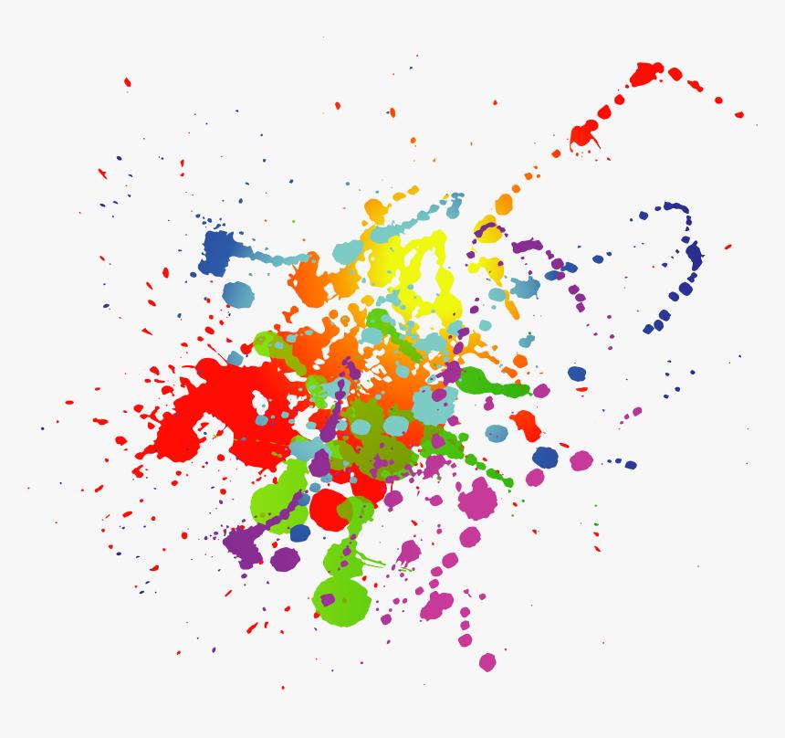 Paint Splatter Png Border, Transparent Png, Free Download