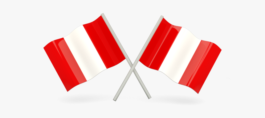 Two Wavy Flags - Equatorial Guinea Flag Transparent, HD Png Download, Free Download