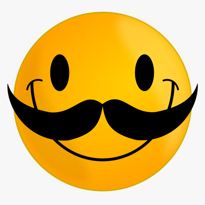 Smiling Sun Clipart Royalty Free - Smile Moustache, HD Png Download, Free Download