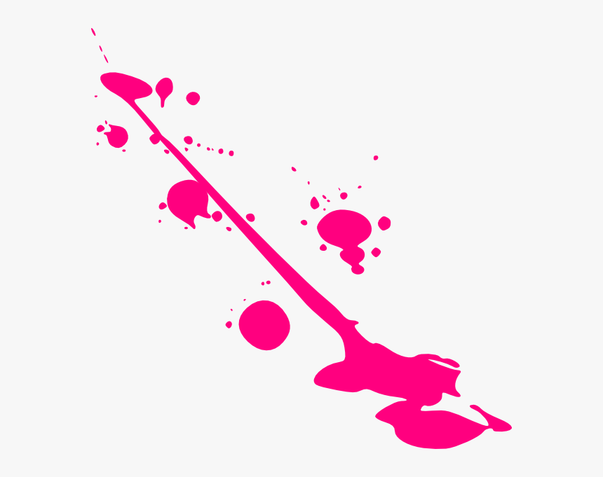 Splatter Neon Paintball Free Pnglogocoloring Pages - Pink Paint Splatter Png, Transparent Png, Free Download