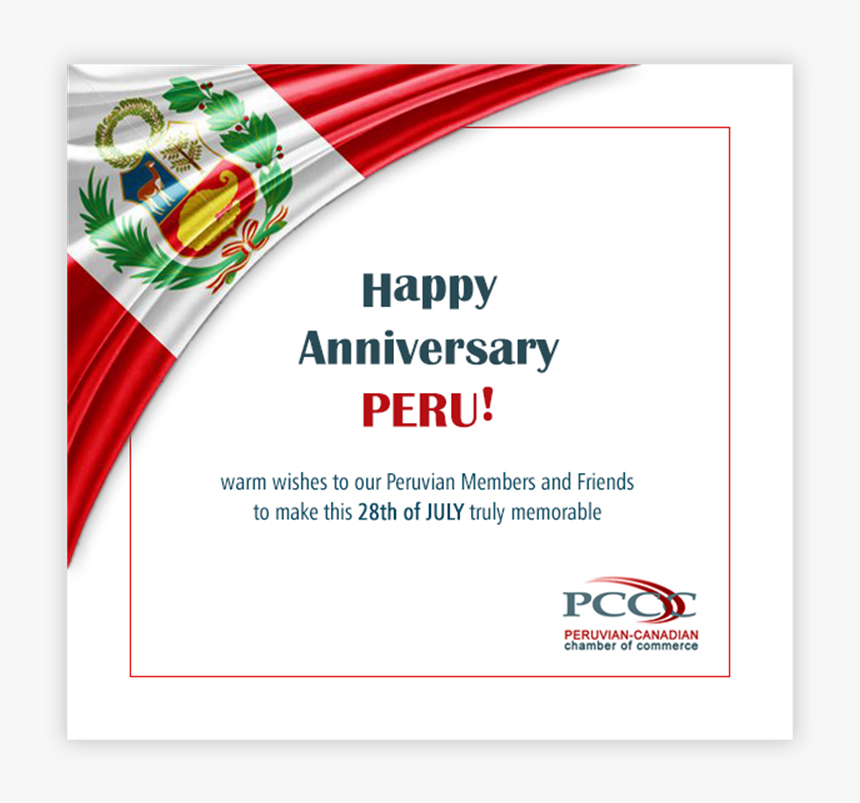Peru Independence Day 28 July, HD Png Download, Free Download