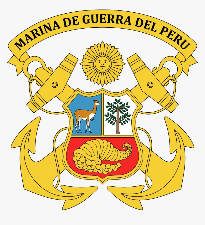 Escudo De La Marina De Guerra Del Peru, HD Png Download, Free Download