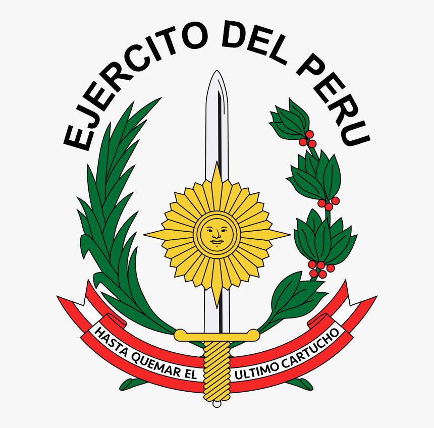 Escudo Del Ejercito Peruano, HD Png Download, Free Download